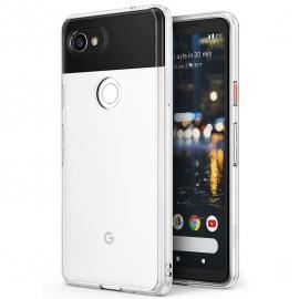 Ringke Coque Google Pixel 2 XL, [Fusion] Bumper en TPU avec Dos Crystal Transparent [Protection Contre Les Chutes/Technologie