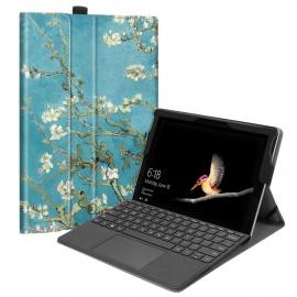 FINTIE Housse Microsoft Surface Go - Folio Coque Cover Case de Protection en Cuir PU avec Fermeture Magnétique pour Microsoft