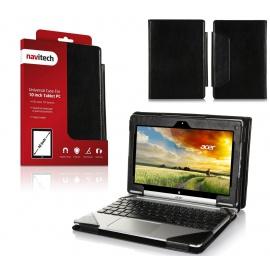 """Navitech Housse étui en Simili Cuir Compatible avec Acer Aspire Switch 10 SW5-011-18MX PC Portable Hybride Tactile 10,1"""""""
