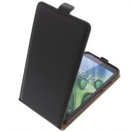 foto-kontor Étui pour Acer Liquid Z6 Plus Flipstyle Coque de Protection Téléphone Portable Noir