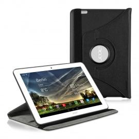 kwmobile Étui Compatible avec Acer Iconia Tab 10  A3-A20  - Étui à Rabat 360° avec Support et Élastique en Simili Cuir noir