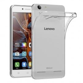 AICEK Coque Lenovo K5/K5 Plus, Etui Silicone Gel Lenovo Vibe K5/K5 Plus Housse Antichoc Lenovo Vibe K5/K5 Plus Transparente S
