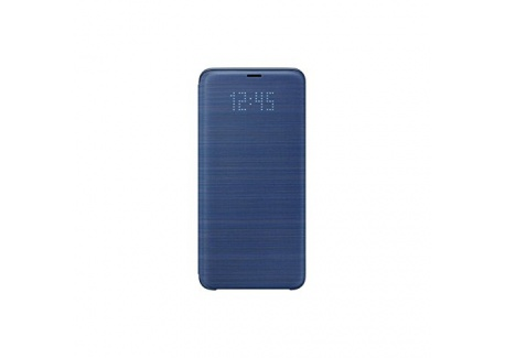 Samsung EF-NG965PLEGWW Etui folio LED View Cover pour Galaxy S9+ Uniquement, Bleu