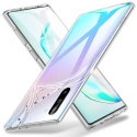 ESR Coque pour Samsung Galaxy Note 10, Bumper Etui de Protection Transparent en Silicone TPU Mince-Souple, Housse Silicone Fl