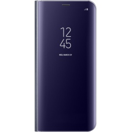 Samsung Original Coque Support à Rabat pour Samsung Galaxy S8 Plus - Violet