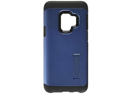 Spigen Coque Samsung S9 [Tough Armor] Triple Protection - US Military Grade, Air Cushion, Spider Web, Coque Compatible avec S