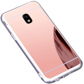Coque Galaxy J5 2017,Miroir Housse Coque Silicone TPU pour Samsung Galaxy J5 2017,Surakey Bling Briller Diamond Coque Miroir
