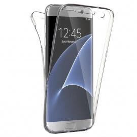 SAVFY® Coque silicone gel integral galaxy s7 edge samsung transparent