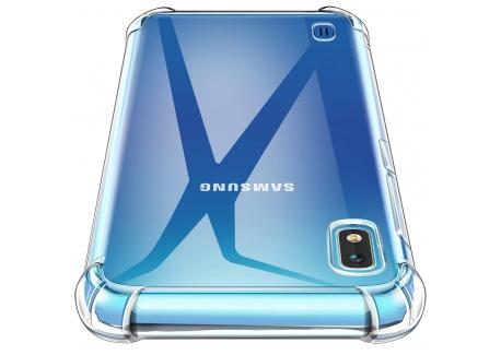AROYI Coque Samsung Galaxy A10, Transparent Silicone Souple TPU Étui Ultra Mince Absorption de Choc Téléphone Housse pour Sam