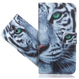 """FoneExpert® Acer Liquid Zest Plus  5.5""""  Coque, Etui Housse Coque en Cuir Portefeuille Wallet Case Cover Pour Acer Liquid Zes"""