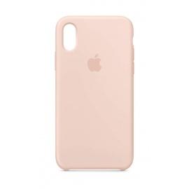 Apple Coque en Silicone  pour iPhone XS  - Rose des Sables