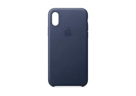 Apple Coque en Cuir  pour iPhoneXS  - Noir