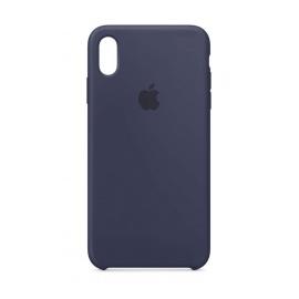Apple Coque en Silicone  pour iPhone XS Max  - Bleu Nuit