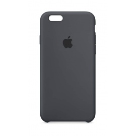 Apple Coque en Silicone  pour iPhone 6s  - Gris Anthracite