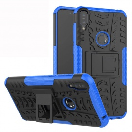 Labanema Zenfone Max Pro ZB601KL /ZB602KL Coque, Etui Housse Coque Shockproof Robuste Impact Armure Hybride Béquille Cover po