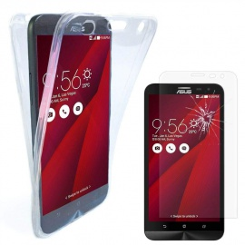 """ANNART Coque pour ASUS Zenfone 2 Laser ZE600KL/ ZE601KL 6.0"""", Coque Silicone Gel Ultra Mince 360° Protection intégrale Avant"""