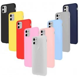 Coque iPhone 11  6.1  Étui Silicone Mince Souple TPU Housse Protection Gel