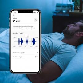 Withings Sleep - Capteur De Sommeil & Domotique - Analyse Des Phases De Sommeil - Détection Des Ronflements Et Des Perturbati