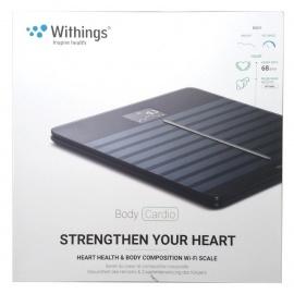 Withings Body Cardio - Balance Connectée avec Suivi de la Santé Cardiovasculaire noire