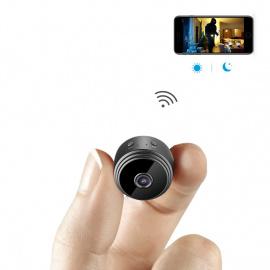 Caméra Espion AOBO Cachée Cam Mini IP WiFi HD1080P Vision Nocturne Détection de Mouvement Caméra de Surveillance de Sécurité