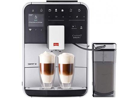 Melitta Machine à Café et Boissons Chaudes Automatiques avec récipient à lait, Commande par Smartphone avec application Conne