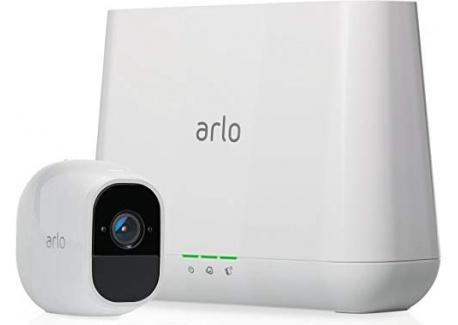 Arlo Pro 2VMS4130P-100EUS Kit de Sécurité 100% sans Fils Alarme 100 dB son Bidirectionnel 1080p Jour/Nuit Etanche IP65 Intéri