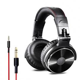 Casque DJ Fermé, OneOdio Casque Audio Studio Professionnel, Casque Filaire, Casque de Monitoring, Son Parfait pour Synthétise