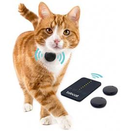 Pack de pistage/localisation Tabcat - Dispositif de suivi sans fil, plus précis qu'un GPS, pour chat et chaton