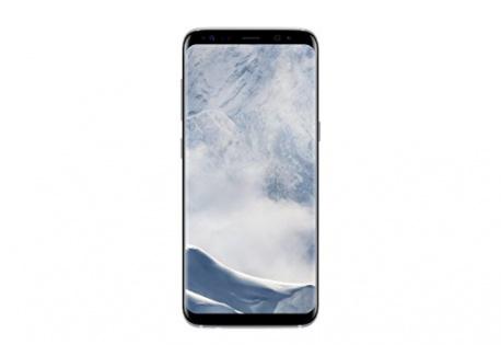 Samsung Galaxy S8 Smartphone débloqué 4G  Ecran : 5,8 pouces - 64 Go - 4 Go RAM - Simple Nano-SIM - Android Nougat 7.0  Argen
