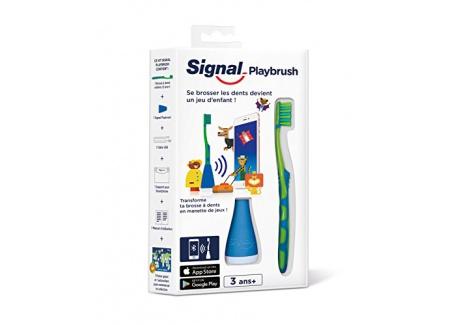Signal Playbrush Brosse à Dents Connectée pour Enfant - Coloris Aléatoire