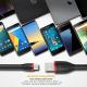 EasyAcc Câble USB C Pocketline Câble Type-C à USB de Recharge et de Données pour Samsung Galaxy S10 2019 S9 S8 / A5 A3 2017,