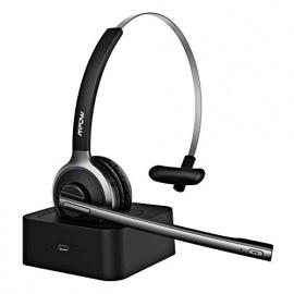 Casque MPOW M5 Pro Bluetooth avec Micro, Chargeur Inclus, Casque Réduction Bruit Ultra Léger