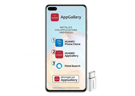 HUAWEI P40 lite E Smartphone débloqué  6.39 pouces - 4/64go - Processeur Kirin 710 - Batterie 4000mAh - Triple Caméra 48MP &