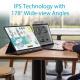"""ASUS Zenscreen MB16AC - Ecran PC portable 15.6"""" FHD - Télétravail ou gaming - Alimentation et affichage via USB-C ou USB-A -"""