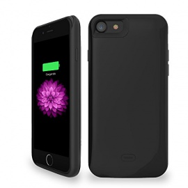 Coque batterie chargeur pour iPhone 7 coque de protection avec batterie intégrée Ultra fin
