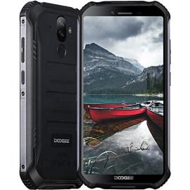 Telephone Portable Incassable, DOOGEE S40 Pro Smartphone Débloqué 4G, HD 5.45 Pouces, Android 10.0, Bluetooth 5.0, 4Go+64Go,