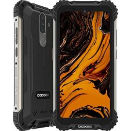 Telephone Portable Incassable, DOOGEE S58 Pro  2020  Smartphone Débloqué 4G, 5.71 Pouces, Android 10.0, 6Go+64Go, 16MP+16MP T