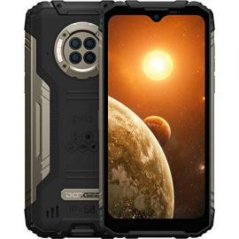 Telephone Portable Incassable DOOGEE S96 Pro Smartphone Débloqué 4G, 6350mAh, 6,22 Pouces, Helio G90, 8Go+128Go, Triple Camér