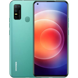 Telephone Portable 4G, DOOGEE N30  2020  Smartphone Écran 6,55 Pouces Débloqué, Android 10.0, 4Go + 128Go,16MP/ 8MP 4 Caméras