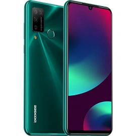 Telephone Portable 4G, DOOGEE N20 Pro 2020  Smartphone Débloqué 6Go + 128Go, Écran 6,3 Pouces, Android 10.0, 16MP/ 8MP 4 Camé