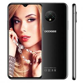 Telephone Portable DOOGEE X95 Pro Smartphone Débloqué 4G, Android 10, 4GB+32GB, Ecran 6.52 Waterdrop, 13MP+2MP+2MP+5MP Triple