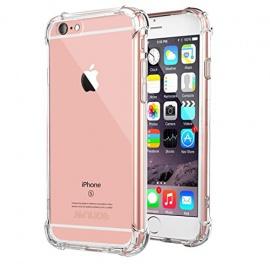 Coque iPhone 6 Transparent Doux Souple Extrêmement Fin Housse TPU Silicone Etui
