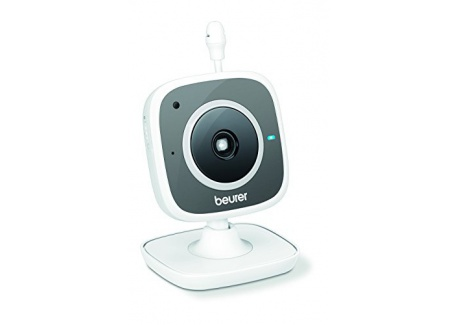 Beurer BY 88 Video de surveillance WiFi pour Smartphone Tablette PC Gris/Blanc