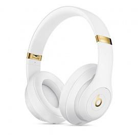 Beats by Dr. Dre Beats Studio3 Bandeau Binaural Avec fil/sans fil Blanc casque et micro - casques et micros (Avec fil/sans fil,