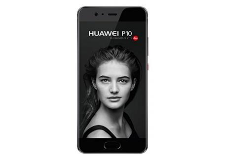Huawei P10 Smartphone portable débloqué 4G (Ecran: 5,1 pouces - 64 Go - Nano-SIM - Android) Graphite Noir
