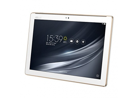 """Asus Zenpad Z301M-1B008A Tablette Tactile 10,1"""" Blanc (Mediatek MT8163B, 2 Go de RAM, EMMC 16 Go, Android 7.0) Clavier AZERTY Fr"""