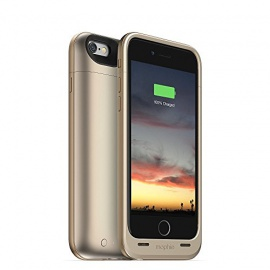 mophie Juice Pack Air Coque-Batterie pour iPhone 6 2750 mAh Or