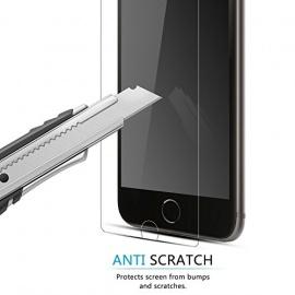 3 Packs Protection écran Moto C Plus, J&D [Verre Trempé] Protection écran Clair HD pour Motorola Moto C Plus - Protège l'écran d