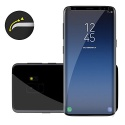 Samsung Galaxy S9 3D Verre Trempé en transparent LIAMOO ® 3D Complète Dureté - Anti-rayures - Smartphone Display Protection - Pr