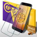 Verre Trempé Galaxy S7, [Lot de 2] 3D Couverture Film Protection écran Protecteur Vitre, Anti Rayures, Ultra Résistant,
